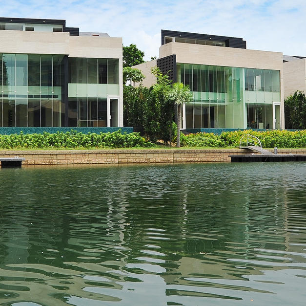 Landed Housing Development at Sandy Island