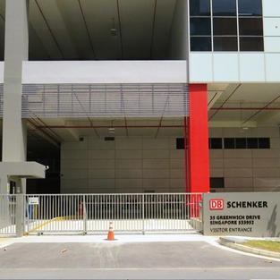 SCHENKER - External Works for 6 Sty Single User Warehouse with Ancillary Office at Tampines Road