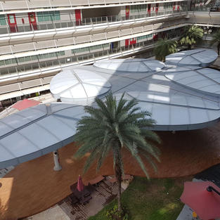 Design and Build of Covered Terraces at Enterprise Zone for ITE College at Simei Avenue