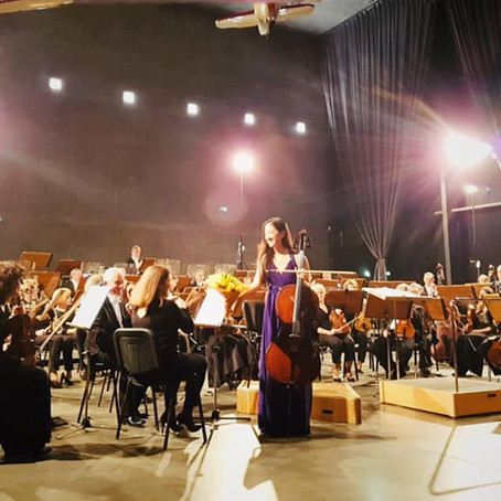 Saint-Saëns Concerto with Krakow Philharmonic Orchestra