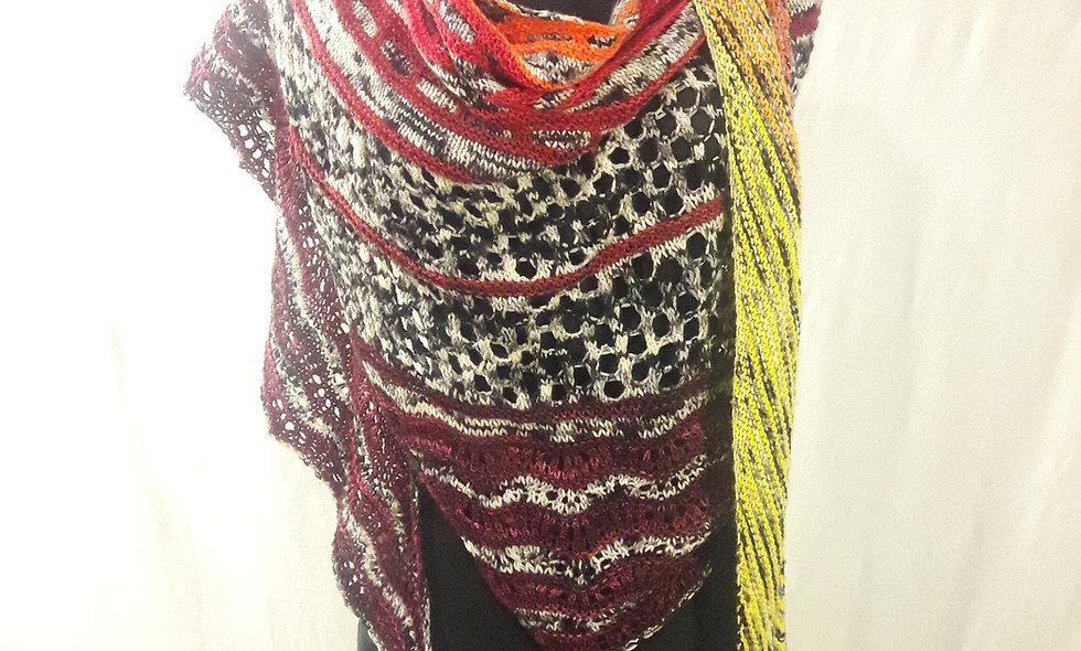 Fresh Squeezed shawl