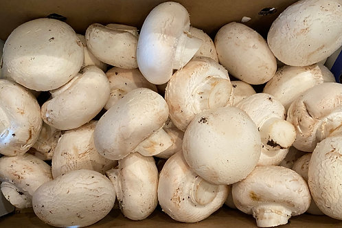 White Special (large) Mushrooms  3 lbs.