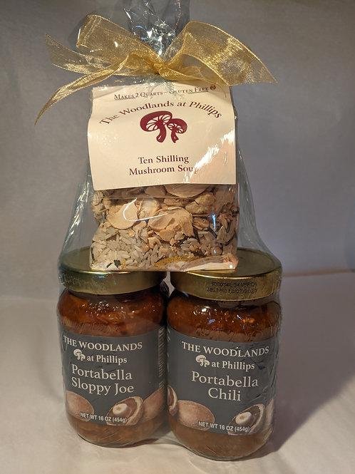 Three Meal Mushroom Gift Set