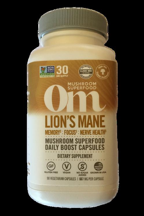 OM Lion's Mane Mushroom Capsules
