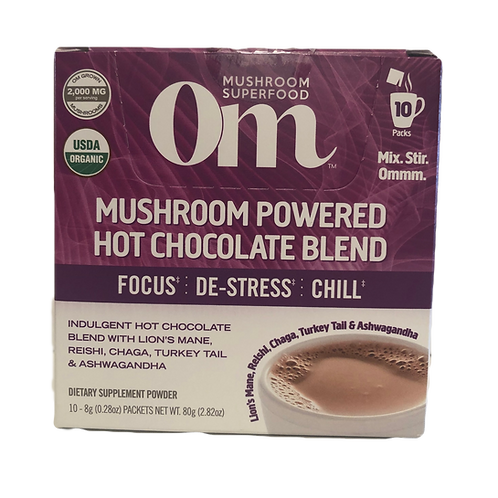 OM Mushroom Powered Hot Chocolate Blend