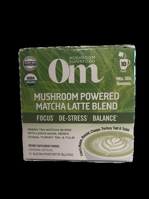Mushroom Powered Matcha Latte Blend