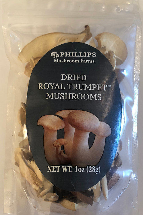 Phillips Dried Royal Trumpet Mushrooms