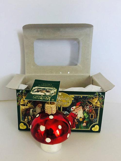 Red mushroom Ornament