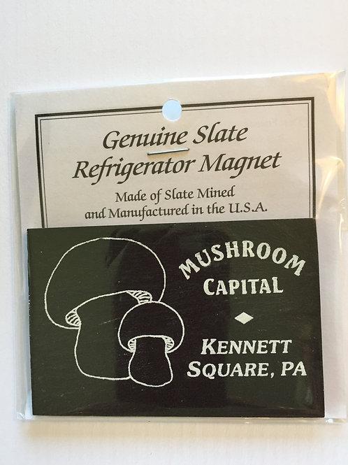 Kennett Square Slate mushroom magnet