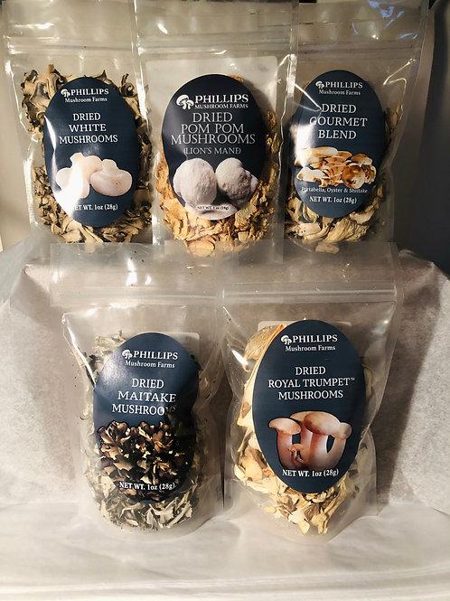 Dried Phillips Mushrooms Gift Box