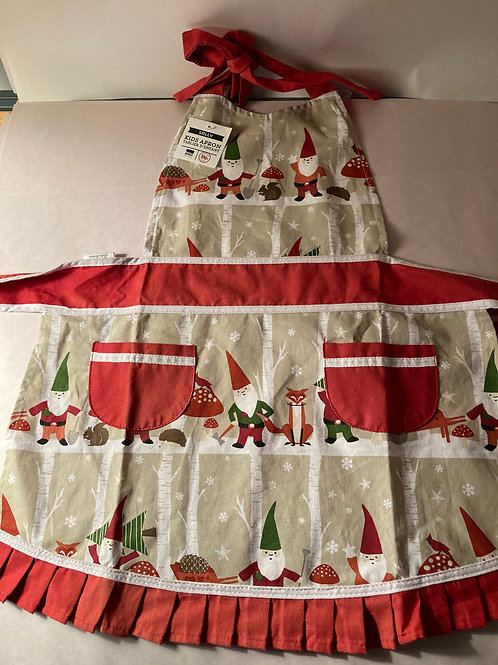 Kid's Christmas Gnome Apron