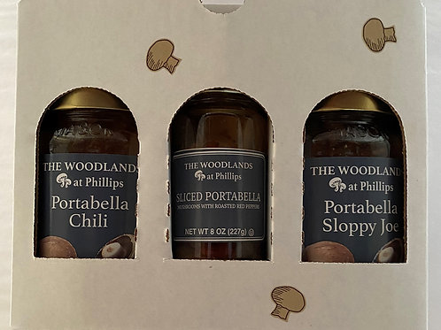 Triple Portabellas Gift Box