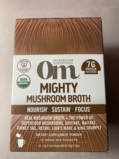 Mighty Mushroom Broth