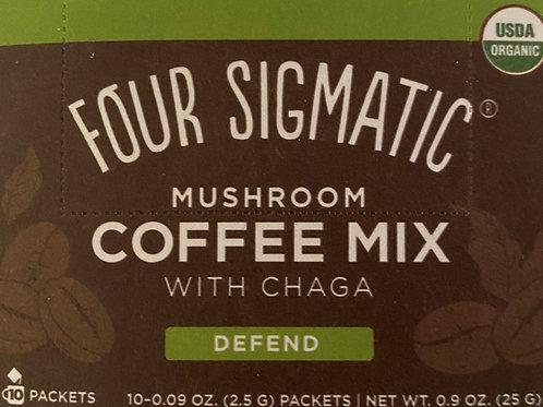 Mushroom coffee mix with Chaga  - Defend