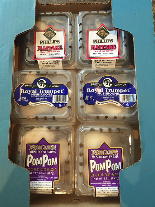 Fresh Exotic Mushroom Box