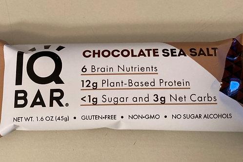 IQ Chocolate Sea Salt Bar