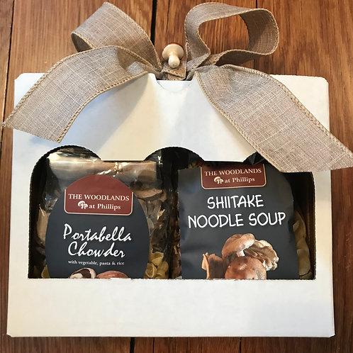 Portabella Chowder& Shiitake Noodle gift box