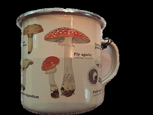 Fungi  Tin  Mug