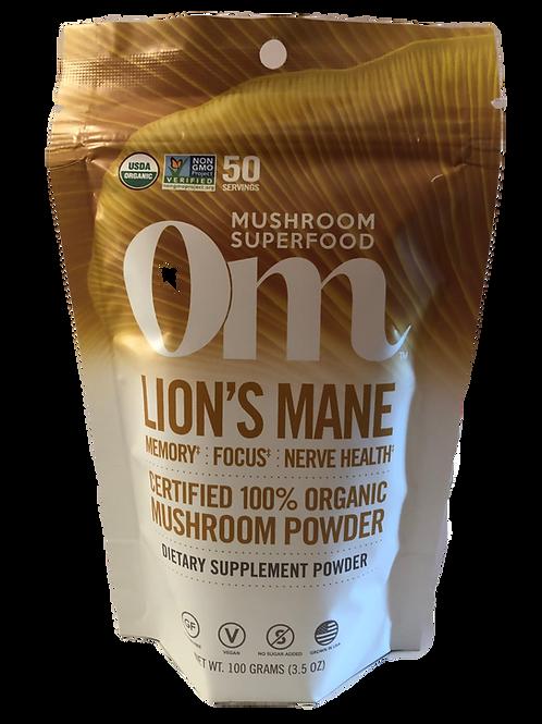 OM Lion's Mane Mushroom Powder