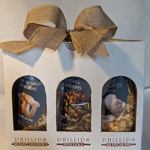 Dried Exotic Mushroom Box