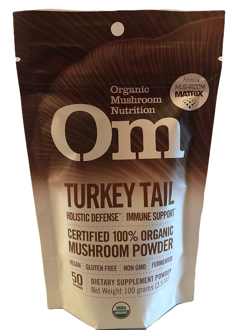 OM Turkey Tail Mushroom Powder