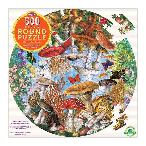 500 piece round puzzle