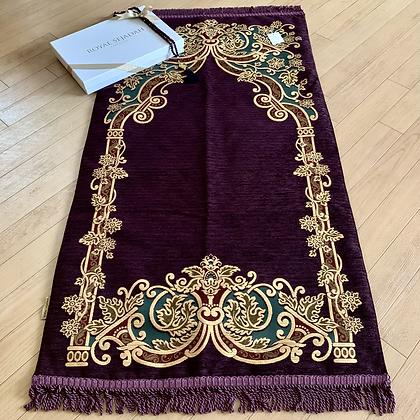 Royal Sejadah - Slightly Padded Luxury Prayer Mat - Prayer Rug - Janamaz