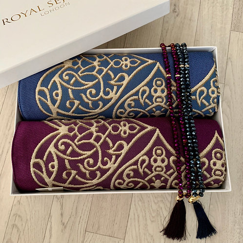 Royal Sejadah - Couples' Luxury Prayer Mats - Prayer Rug - Janamaz