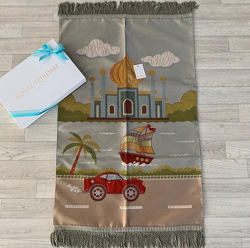 Royal Sejadah - Kids' Luxury Prayer Mat - Prayer Rug - Janamaz