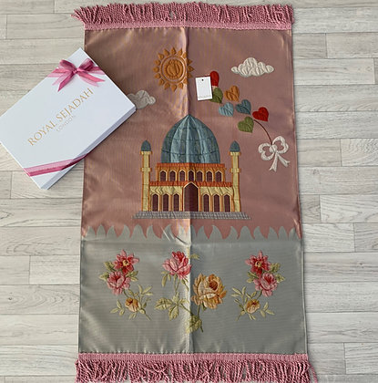 Royal Sejadah - Kids' Luxury Prayer Mat - Prayer Rug - Janamaz