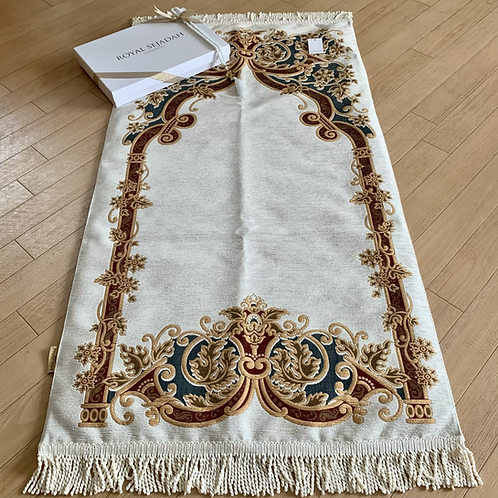 Royal Sejadah - Lightly Padded Luxury Prayer Mat - Prayer Rug - Janamaz