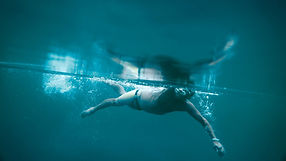 Iceswimmer stroke underwater. Shot by Tjark Lienke for BMW..
