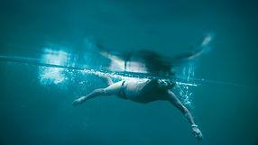 Iceswimmer stroke underwater. Shot by Tjark Lienke for BMW..