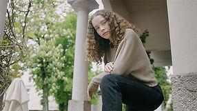 Charly fashion teenage nature. Shot by Tjark Lienke.