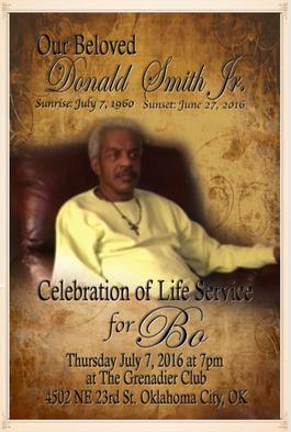 Memorial Program Cover