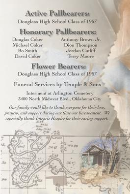 Memorial Program