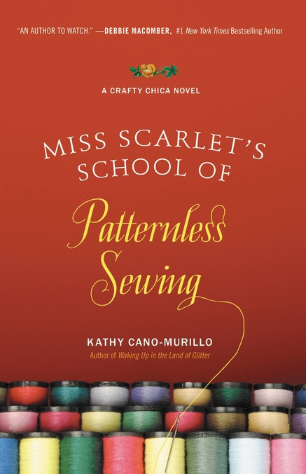 Book cover picture of Miss Scarlet's School of Patternless Sewing