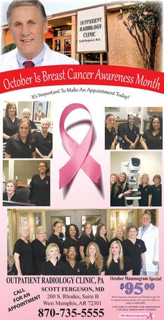 Breast Cancer Awareness Month Mammogram Special