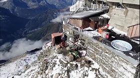 Les Grands Montets 3300 m