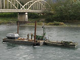 Travaux fluviale