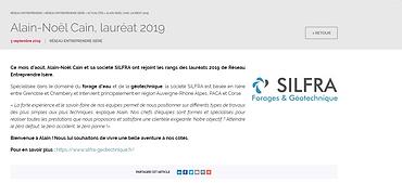 Lauréat 2019 - Réseau Entreprendre