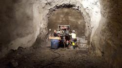 Forage en tunnel