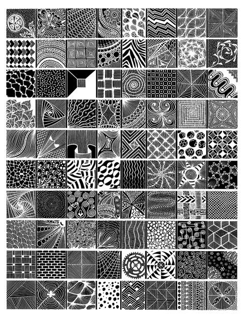 """Zentangle Tiles"""