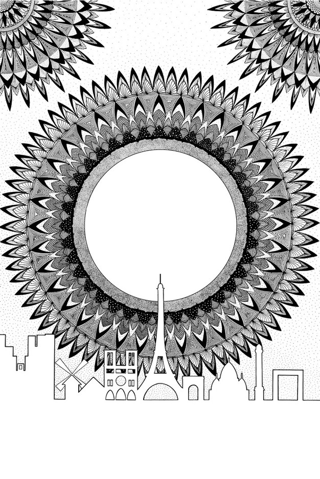 """Paris Mandala"""