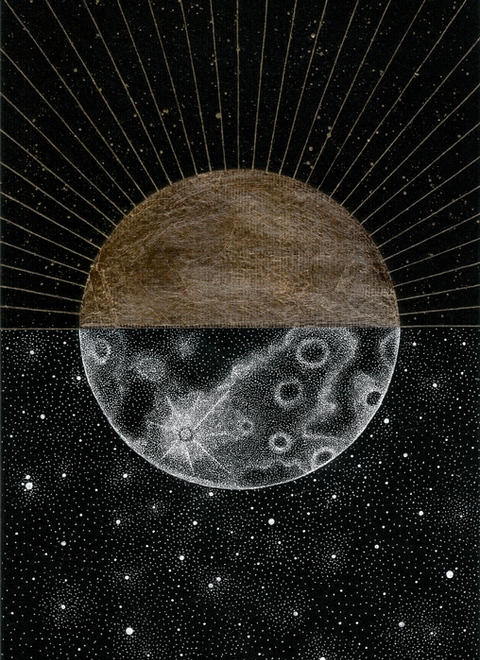 """When the Sun meets the Moon"""