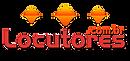 Logotipo do site Locutores.com.br que leva à minha página no site.