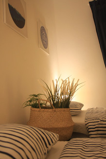 Warm light to make your Twin room even more comfortable