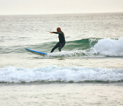 We will teach how to surf