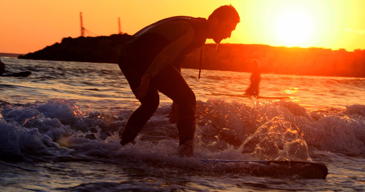Sunset surf sessions in Alentejo!