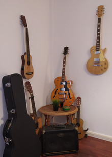 For those who can't leave without music - in our lounge